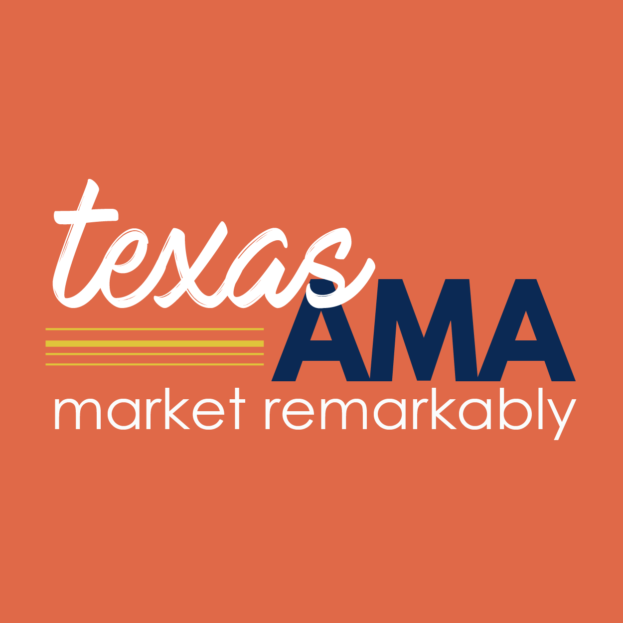 TEXAS AMERICAN MARKETING ASSOCIATION